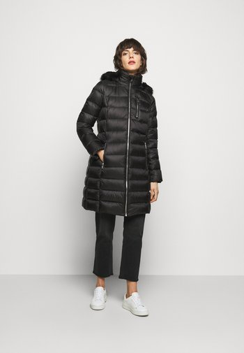 PUFFER - Down coat - black