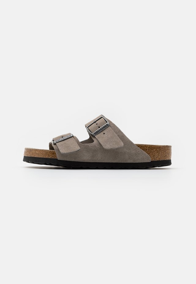 ARIZONA SOFT FOOTBED UNISEX - Pantoffels - stone coin