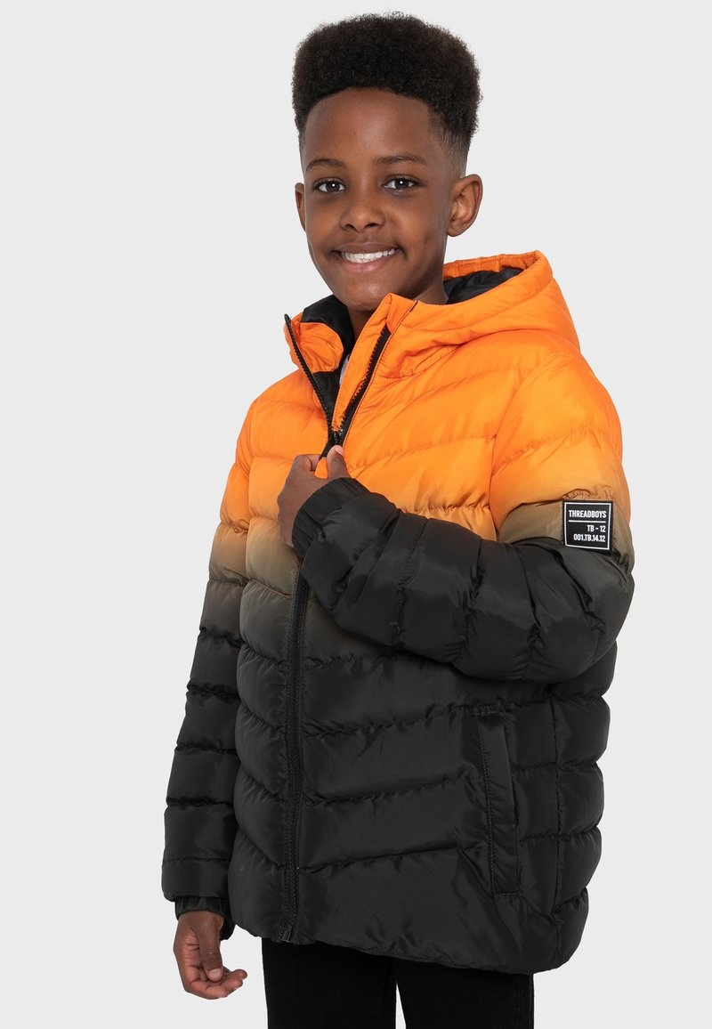 Threadboys - Jacke Puffer - Untuvatakki - orange