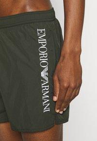 Emporio Armani - BOXER - Badeshorts - military green - 3