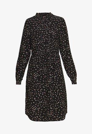 AIR MOSS - Košilové šaty - black