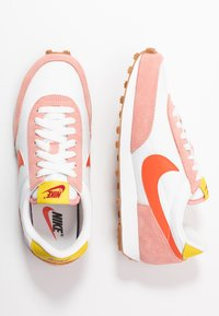 Nike Sportswear - DAYBREAK - Trainers - coral stardust/team orange/summit white/chrome yellow/med brown/gym red - 3