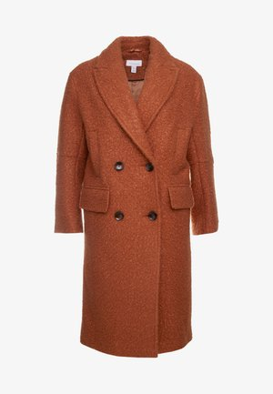 KIM BOUCLE - Classic coat - rust