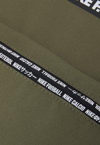 Nike Performance - FC UNISEX - Rucksack - medium olive/black/white - 4
