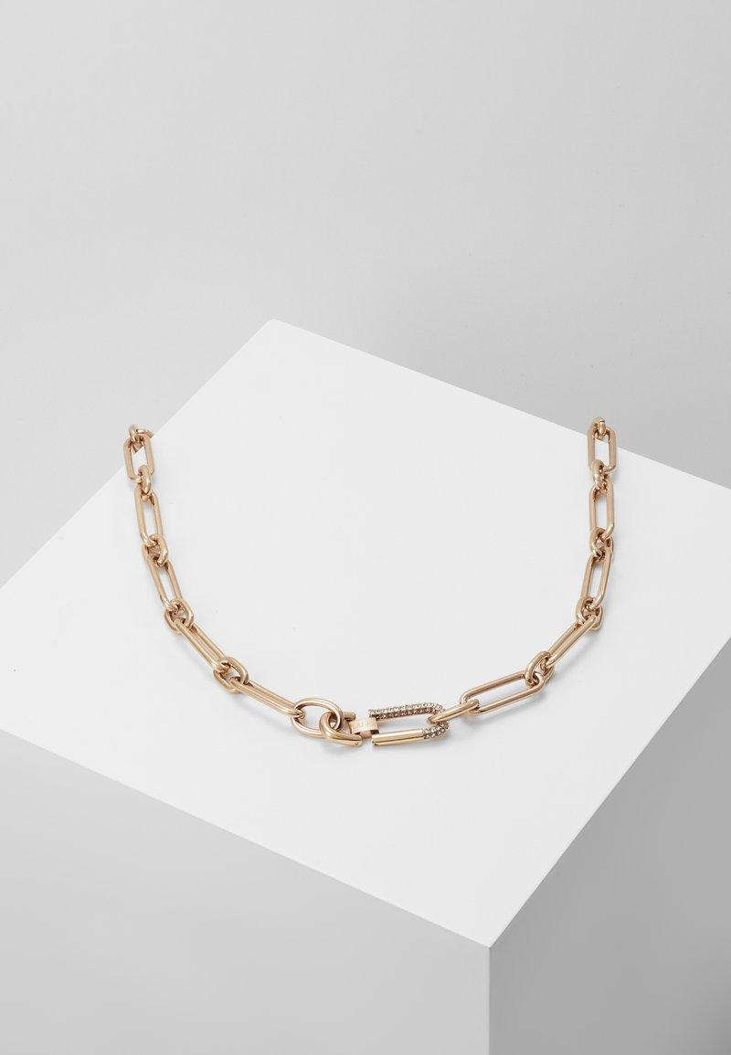 LIU JO - NECKLACE - Ketting - rose gold-coloured