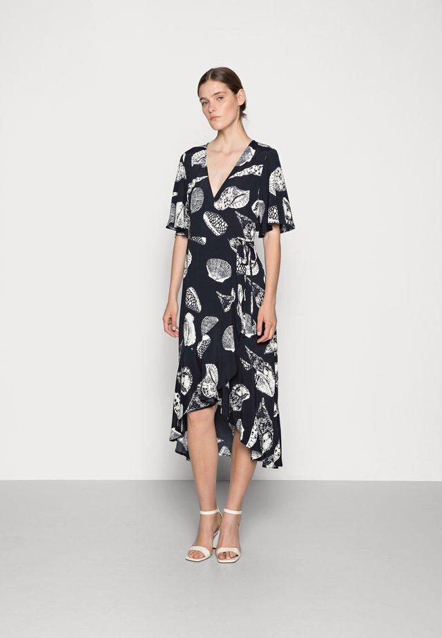 DRESS JULY  - Day dress - beige/dark blue