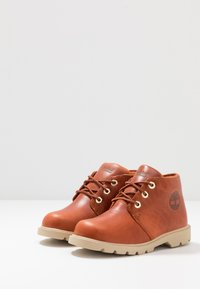 Timberland - CHUKKA WP - Lace-up ankle boots - rust - 3