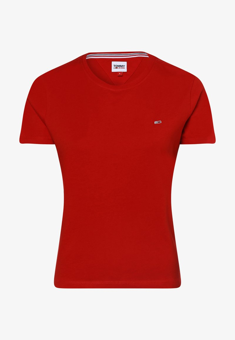 Tommy Jeans - Basic T-shirt - rot