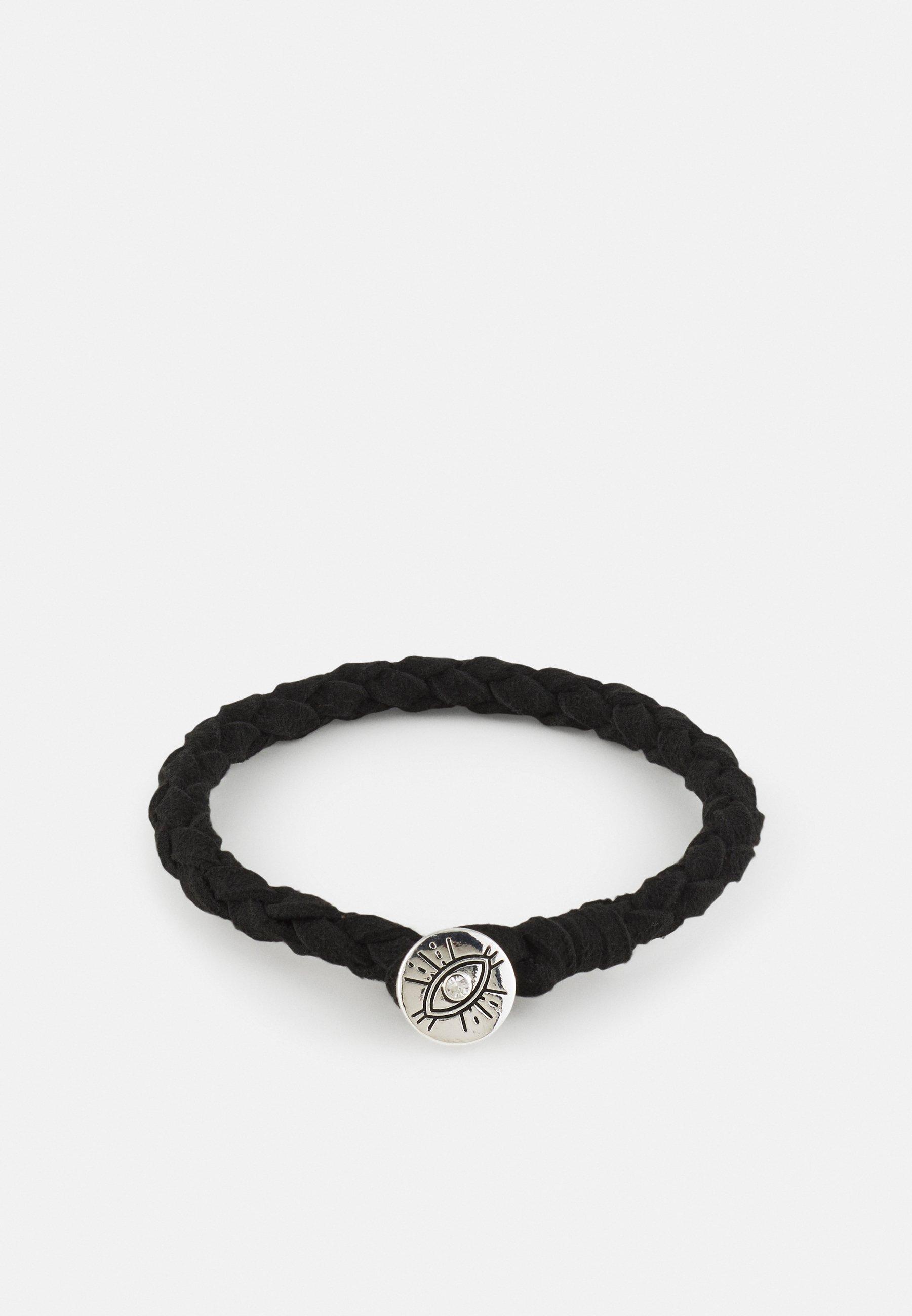 Homme DECO NUANCE PLAITED EYE DISC BRACELET - Bracelet