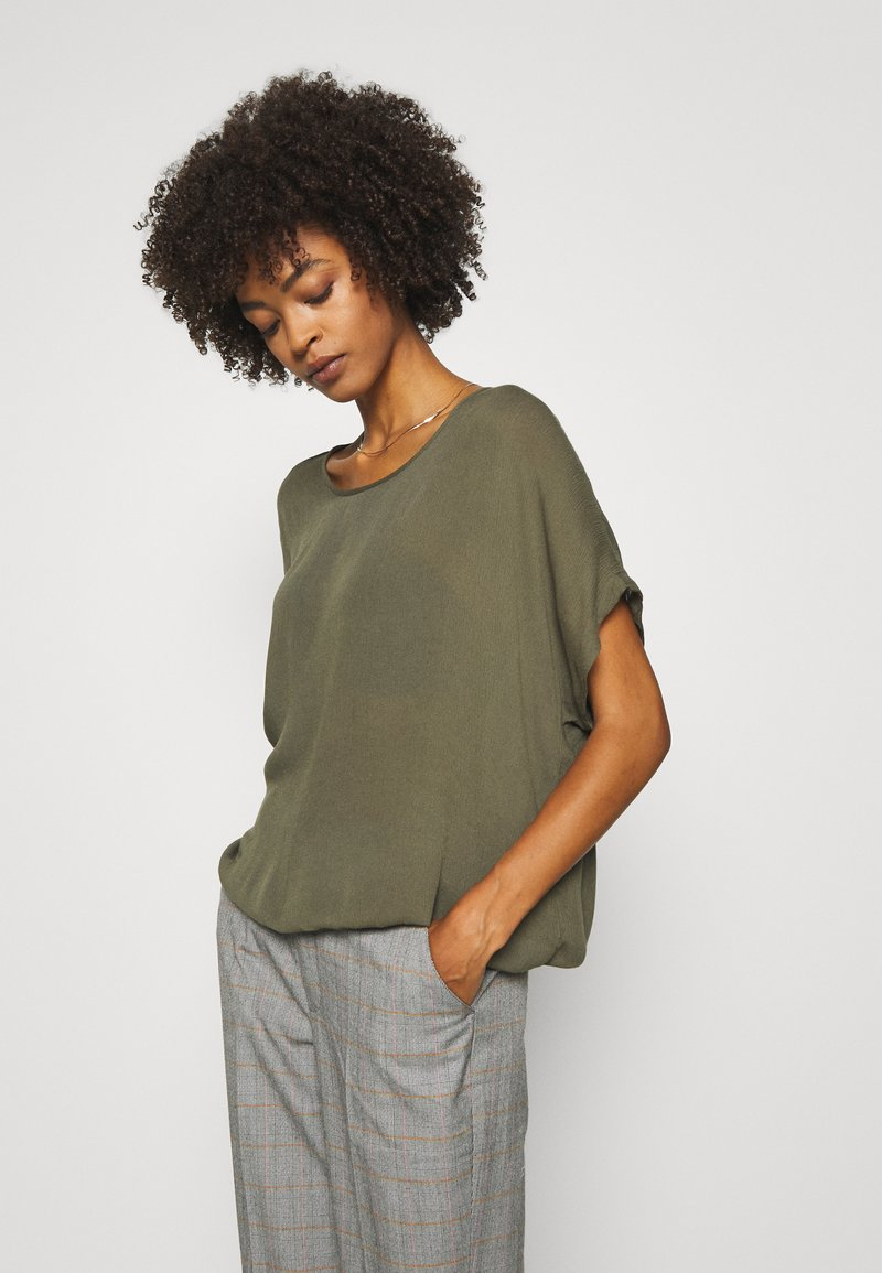 Kaffe - AMBER STANLEY - Blouse - grape leaf