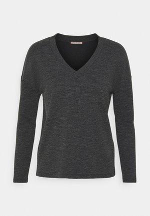 Svetr - mottled grey