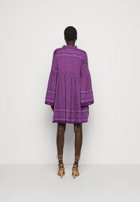 CECILIE copenhagen - SOUZARICA - Day dress - plum - 2