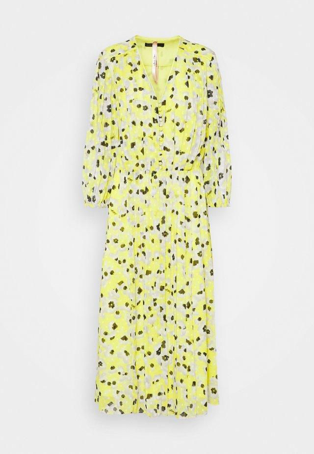 Korte jurk - lemon drop