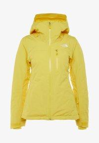 DESCENDIT JACKET - Chaqueta de esquí - vibrant yellow