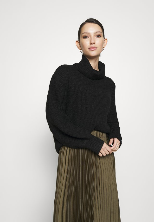 ALEKA JUMPER - Sweter - schwarz