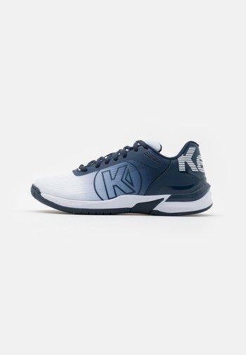 ATTACK THREE 2.0 - Handball shoes - white/navy