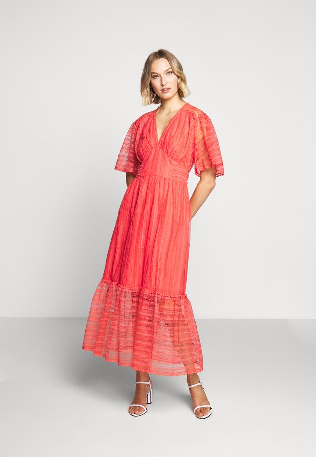 ETERNAL DRESS - Vestido largo - spiced coral