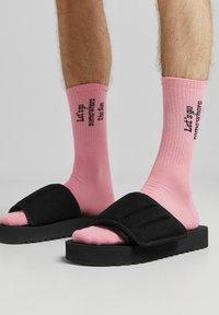 Bershka - 3 PACK - Ponožky - yellow - 1