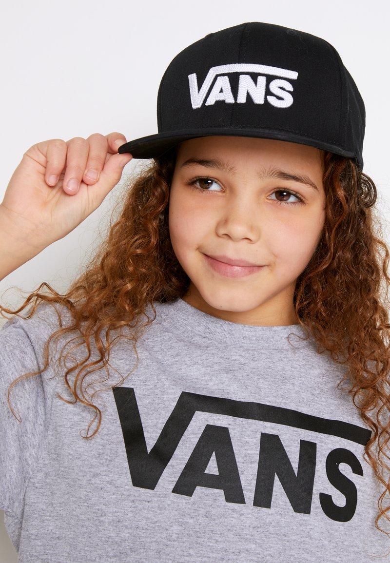 Vans - BY DROP V II SNAPBACK BOYS - Pet - black/white