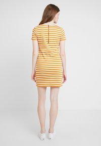 Vila - VITINNY NEW DRESS - Shift dress - golden oak/snow white - 3