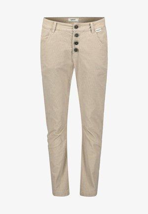 TSCHEPPA - Trousers - beige