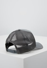 New Era - ESSENTIAL AFRAME TRUCKER - Kšiltovka - grey heather - 2