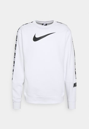 REPEAT CREW - Sweatshirt - white/black