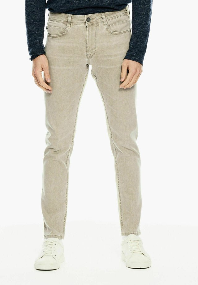 Slim fit jeans - dusty olive