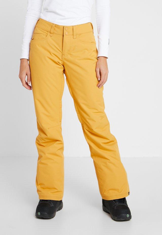 BACKYARD  - Talvihousut - spruce yellow