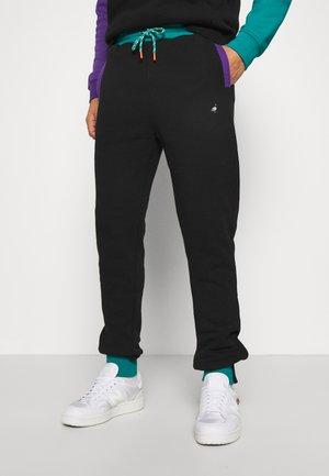 TRICOLOR PANT UNISEX  - Pantaloni sportivi - black