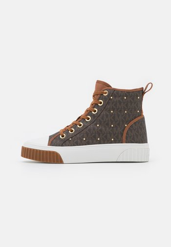 GERTIE HIGH TOP - High-top trainers - brown