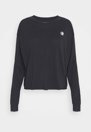 CELESTIAL COVE TEE - Longsleeve - washed black