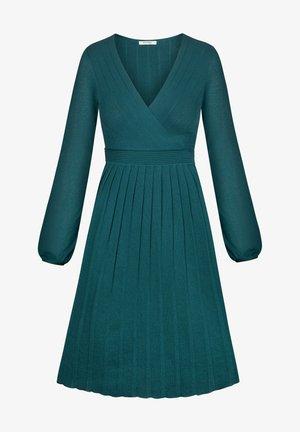 Jumper dress - blaugrün