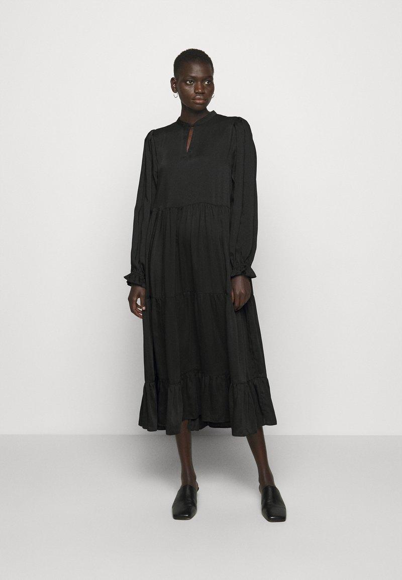 Bruuns Bazaar - EMILLEH RAVEN DRESS - Maxi dress - black