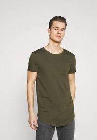 TOM TAILOR DENIM - 7 PACK  - T-shirt - bas - black - 4