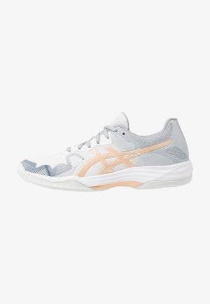 GEL TACTIC - Volleyball shoes - white/champagne