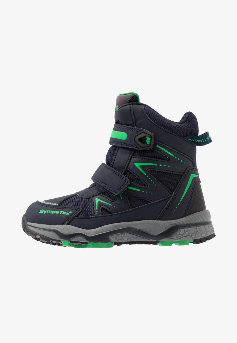 Lurchi - LOMMY SYMPATEX - Winter boots - navy/green