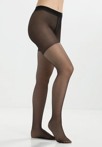 FALKE - FALKE SHAPING PANTY 20 DENIER STRUMPFHOSE TRANSPARENT GLÄNZEND SCHWARZ - Tights - black - 1