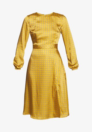 DRESS - Day dress - gold