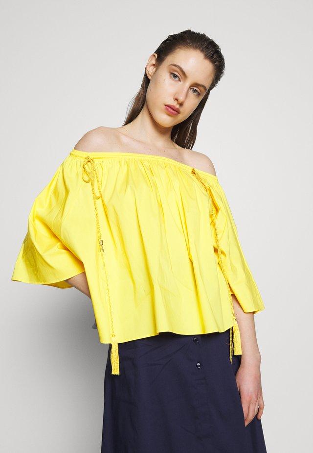 CAMICIA - Blouse - citrine yellow