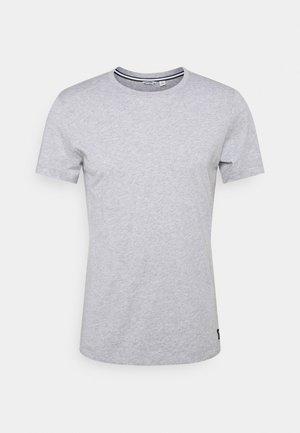CENTRE - Jednoduché triko - light grey melange