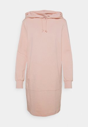 HOODY DRESS - Kjole - pink