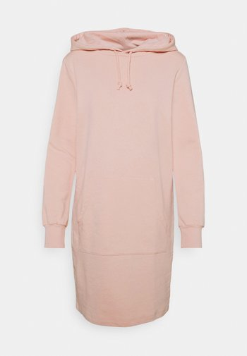 HOODY DRESS - Day dress - pink