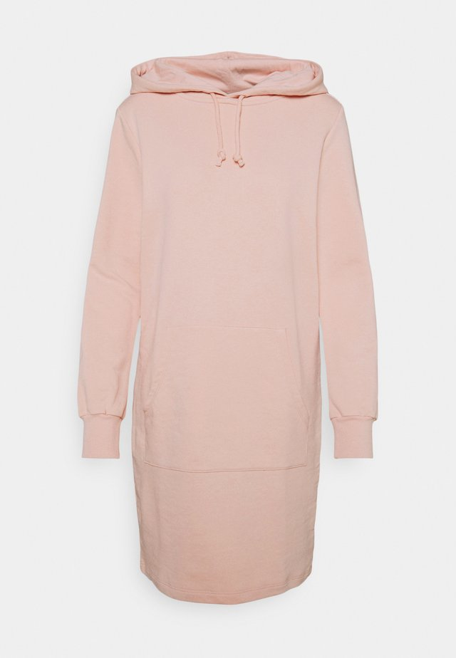 HOODY DRESS - Vapaa-ajan mekko - pink