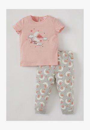 2 PIECE SET - Pyjama set - pink