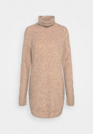PCELLEN LONG - Strikpullover /Striktrøjer - natural