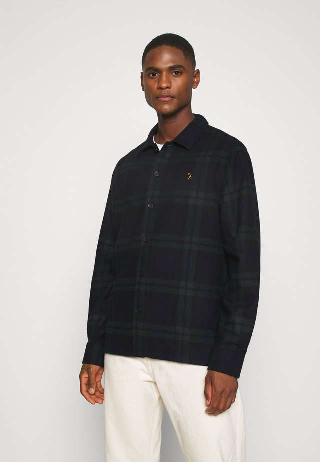 DRUMMOND CHECK - Skjorte - deep olive