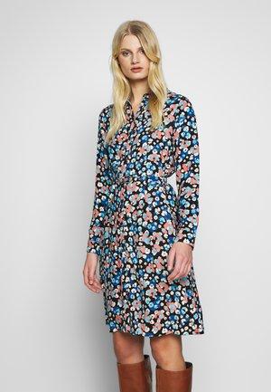 HAYLEY DRESS - Shirt dress - blue/orange/white