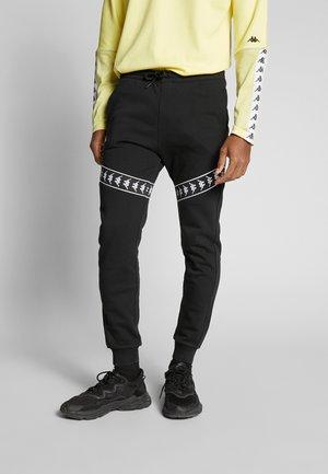 GERNOS - Pantalones deportivos - caviar
