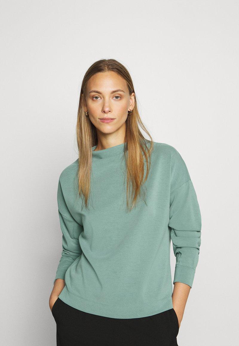 Opus - GATHER - Sweatshirt - mineral green